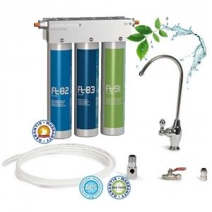 Purificateur d'eau par ultra filtration pour eau du robinet d'évier