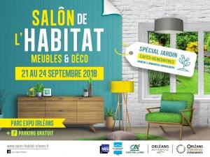 Salon de l'habitat Orléans du 21 au 24 SEPTEMBRE 2018