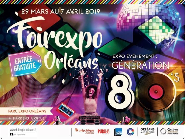 Foire expo orleans 2019 du 29 mars au 7 avril 2019