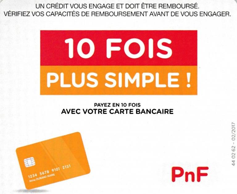 Paiement 10 fois possible par carte bancaire chez PROCALCAIRE